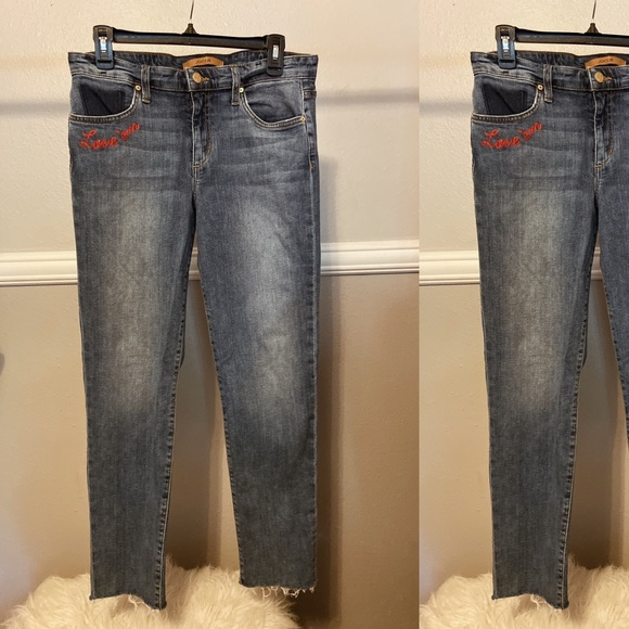 Joe's Jeans Pants - Joes Love Em, Leave Em Cropped Denim!